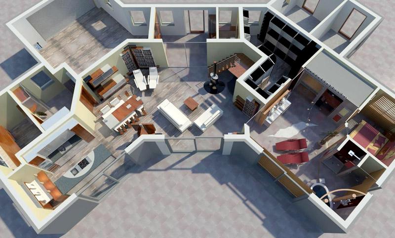 innenarchitekt f r wohnen b ro wellness haus villen und m bel. Black Bedroom Furniture Sets. Home Design Ideas