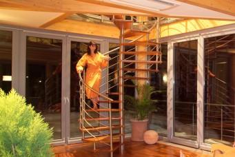 14-Wohndesign-Wendelptreppe-Nirosta